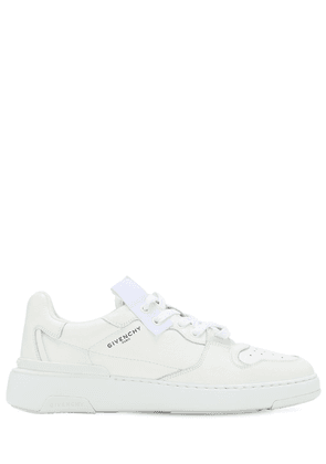 Wing Leather Sneakers W/logo