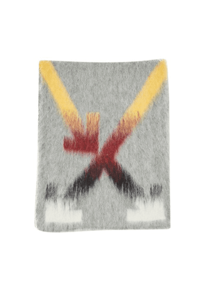 Fuzzy Arrow scarf