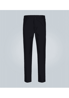 Classic-fit cotton pants