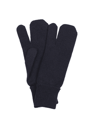 Tabi wool and cashmere knit gloves