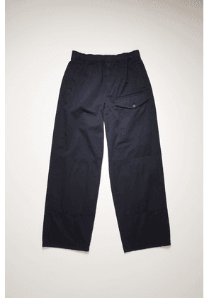 Acne Studios FN-MN-TROU000347 Navy  Straight-leg cotton trousers