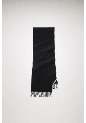 Acne Studios FN-UX-SCAR000117 Black Pilled wool scarf