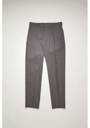 Acne Studios FN-MN-TROU000362 Grey  Slim-fit twill chinos