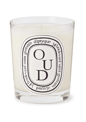 Diptyque - Oud Scented Candle, 190g - Men - Colorless