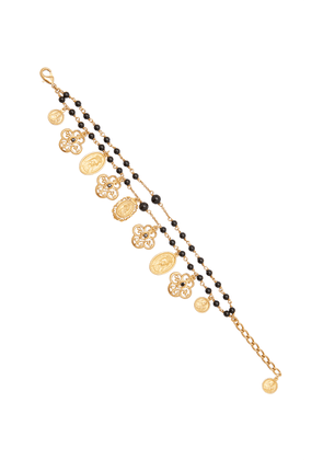 Dolce & Gabbana Gold-Plated And Beaded Bracelet
