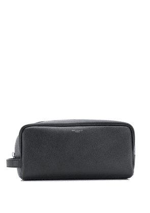 Saint Laurent top-zip washbag - Black