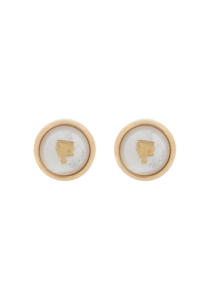 LANVIN Mother and Child t-bar cufflinks - GOLD