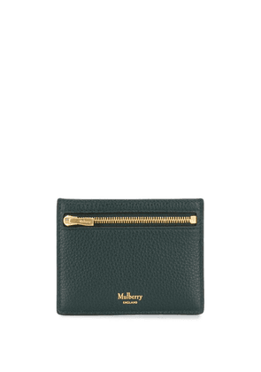 Mulberry compact logo cardholder - Green