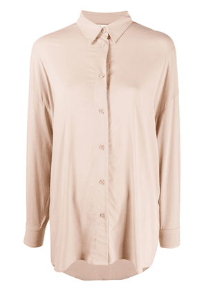 IRO pointed collar loose-fit shirt - NEUTRALS