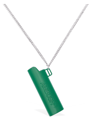 Ambush Embossed Lighter Case Necklace