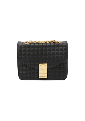 Small C Bag In Quilted Calfskin