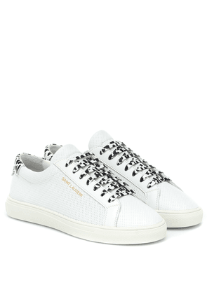 Andy perforated leather sneakers