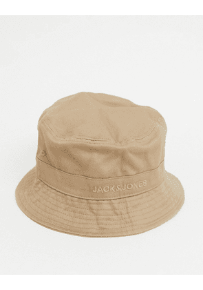 Jack & Jones Bucket Hat-Brown
