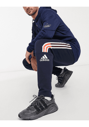 adidas Z.N.E joggers in legend ink-Navy