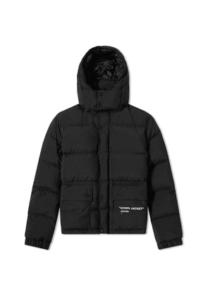 Off-White Quotes Puffer Jacket