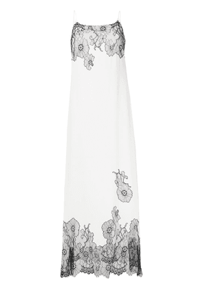 Myla Pansy Gardens slip dress - White