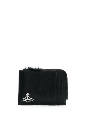 Vivienne Westwood Orb small purse - Black