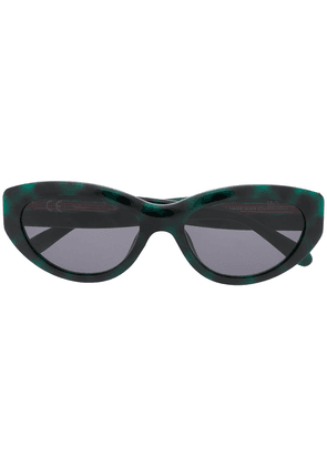 Mulberry Sally oval-frame sunglasses - Green