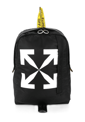 Off-White Arrows printed backpack - Black