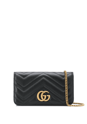 Gucci GG Marmont matelassé crossbody bag - Black