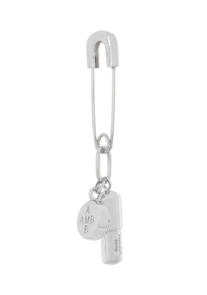 AMBUSH pill earring - Metallic