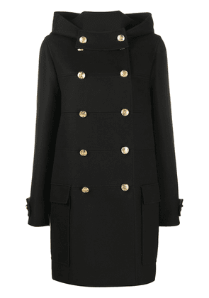 Mulberry double-breasted coat - Black