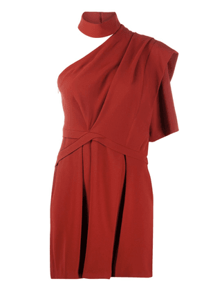 IRO Fundi one-shoulder cocktail dress - Red