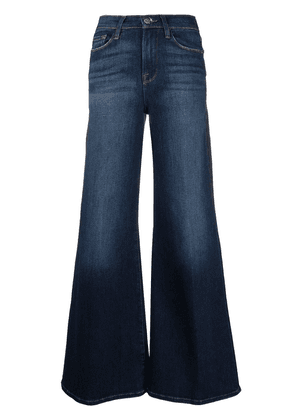 FRAME stonewashed flared jeans - Blue