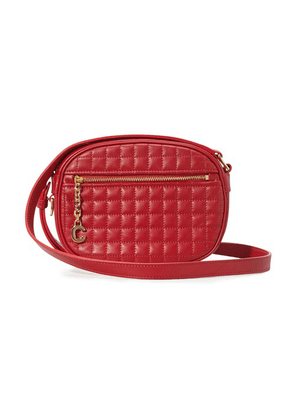 Small C Charm Bag In Quilted Calfskin