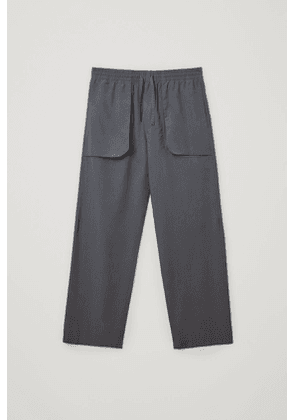 RELAXED ORGANIC COTTON PANTS