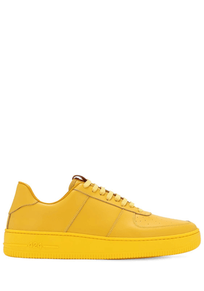 Low Top Leather Sneakers