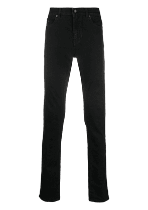 Saint Laurent mid-rise skinny jeans - Black