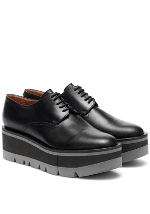 Bradie leather platform Derby shoes