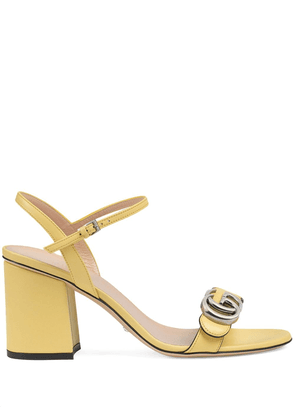 Gucci Double G sandals - Yellow