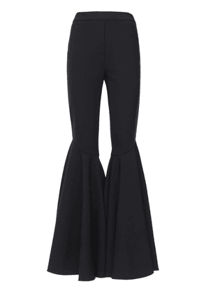 Maxi Flared Wool Blend Pants