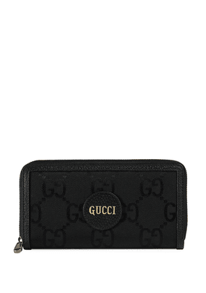 Gucci Off The Grid GG Supreme logo-patch wallet - Black