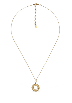 Rond Marin Charm Short Necklace