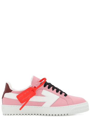 20mm Arrow Leather Low Top Sneakers