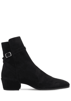40mm Clementi Suede Ankle Boots