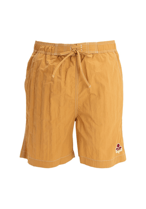 Tech Swim Shorts W/ Logo Patch