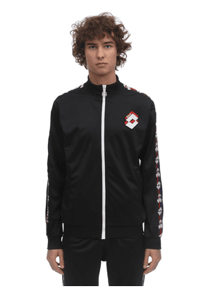 Lotto Logo Bands Track Jacket