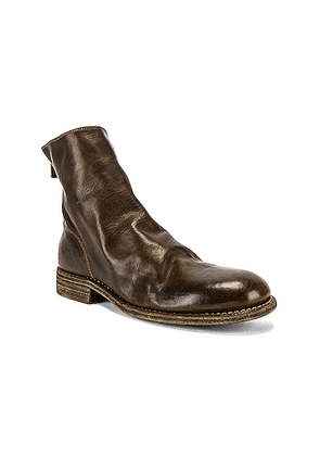 Guidi Back Zip Boot in Brown - Brown. Size 44 (also in 41,43,45).