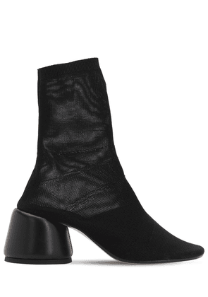 65mm Mesh Sock Ankle Boots