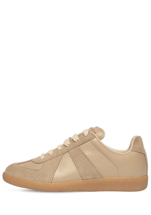 20mm Replica Leather & Suede Sneakers