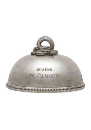 Cloche with snake