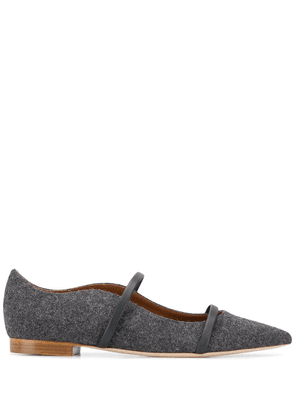 Malone Souliers Maureen flat pumps - Grey