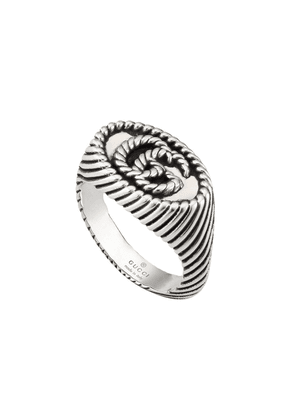 Gucci sterling silver GG ring