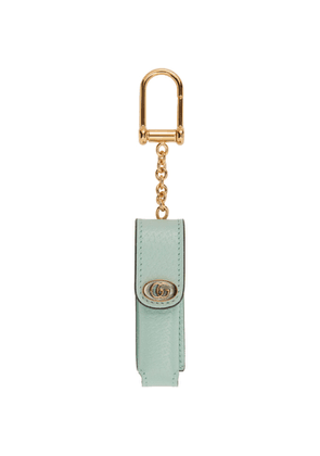 Gucci Green Single Porte-Rouges Keychain