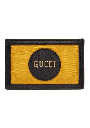 Gucci Yellow Off The Grid GG Card Holder