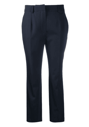 LANVIN cropped tailored trousers - Blue